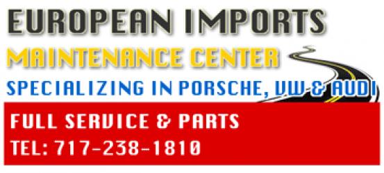 Porsche, Volkswagen & Audi Service and Repairs Harrisburg PA